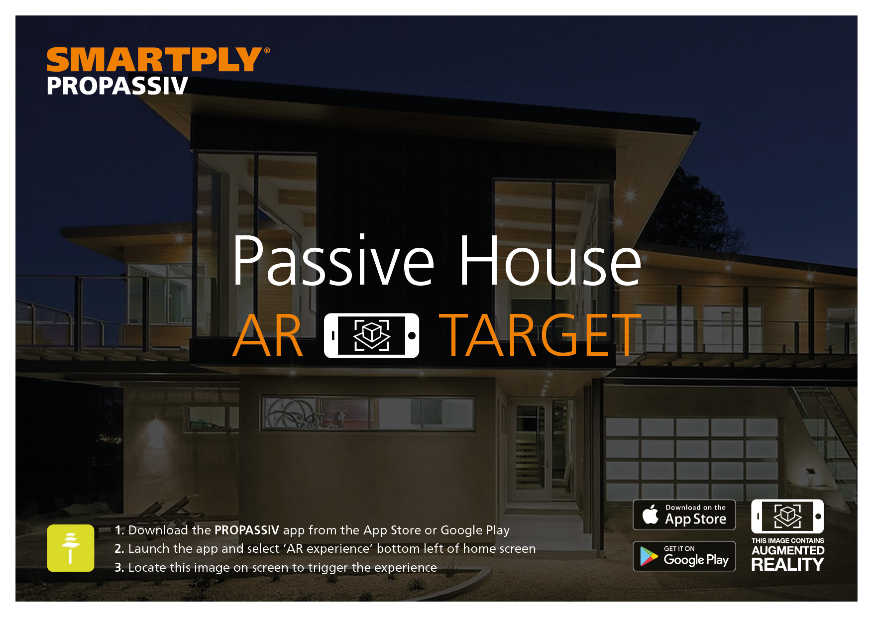 Passive House AR marker
