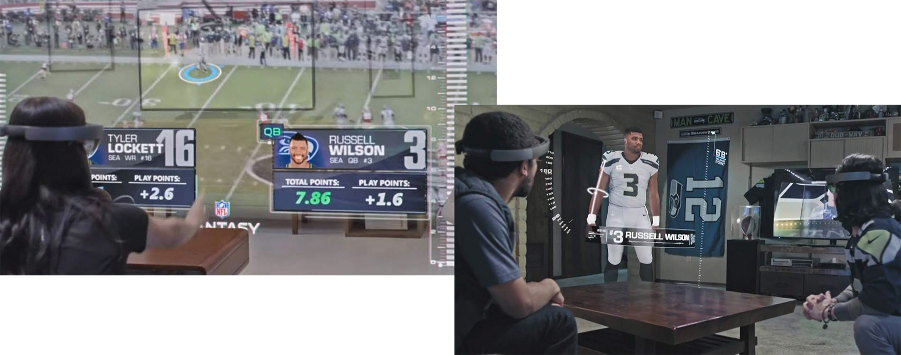 AR+VR = a new reality for sport